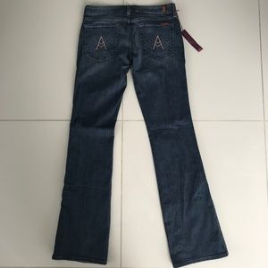 """NWT 7 for All Mankind """"A"""" Pocket Bootcut Jeans"""